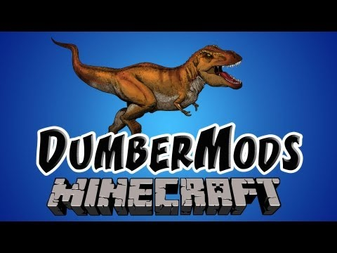 DINOSAUR MOD ★ Minecraft: