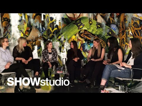 SHOWstudio: Alexander McQueen Womenswear Autumn Winter 2014 Panel Discussion