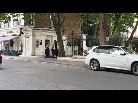 LIVE Hizb ut Tahrir Britain Protest at Saudi Arabia Embassy in London