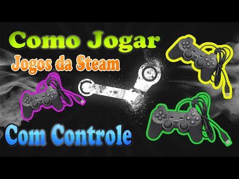 Como jogar quase qualquer jogo Steam Com Controle (Sem emulador)