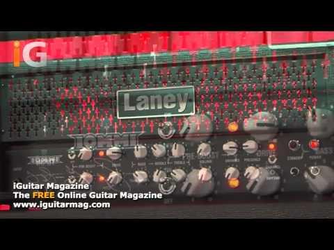 Tony Iommi Laney TI 100 Amp Overview - MusikMesse 2012 - iGuitar Magazine