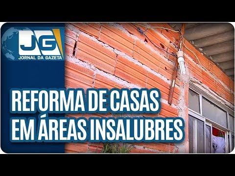 Reforma de casas em áreas insalubres