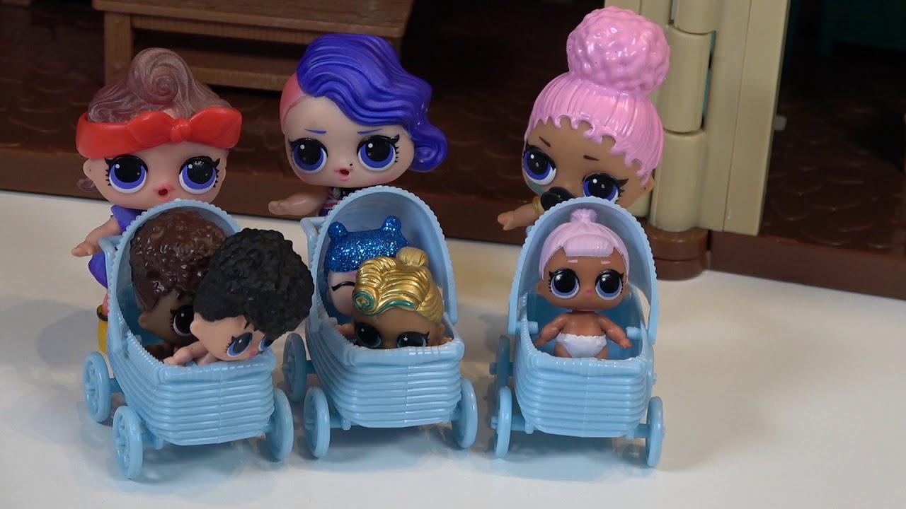 Раскраски куклы ЛОЛ Сюрприз