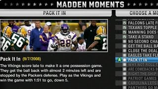 ADRIAN PETERSON AND PERCY HARVIN WOW! LET'S PLAY MADDEN 10 MADDEN MOMENTS P3