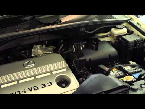 Lexus Rx330 Air Cleaner Replacement Youtube