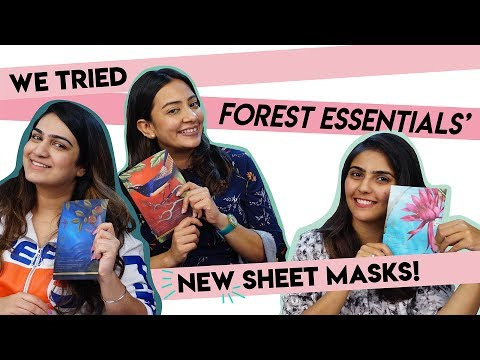 Forest Essential Sheet Masks - Reviewed | Hauterfly