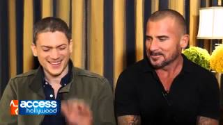 Wentworth Miller & Dominic Purcell On Working Together On 'The Flash
