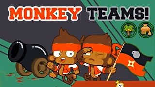 Monkey Teams on Junior Map Chest Tile - Bloons Monkey City