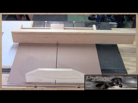 Make A Cross Cut Sled Part 1 of 2