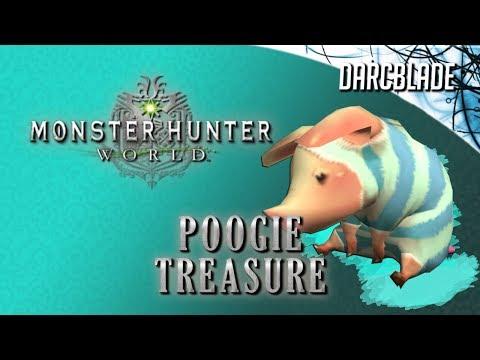Monster Hunter World : Poogie Treasure
