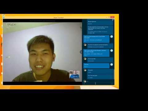 Skype Translation