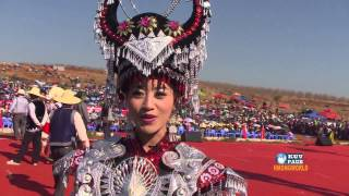 HMONGWORLD: MIM YAJ, Hmong Singer from China, Exclusive Interview During Hmong Int'l Hauvtoj Fest
