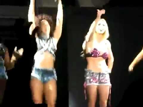 Lady Gaga En El Concierto De Britney Spears