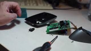Motorola ME4052-1 Cordless docking station teardown scrapping