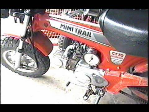 HOW TO CLEAN The Carburetor on HONDA CT 70 Mini Bike - PART 1/3