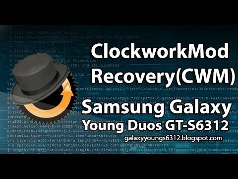 ROOT] How to install ClockworkMod Recovery on Galaxy Young GT-S6312