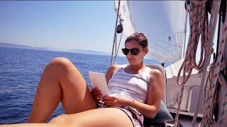 This is the LIFE!  Sailing Between Continents | Sailing Vlog 76 | Sailing Ruby Rose
