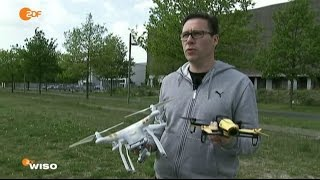 Drohnen - Quadrocopter - Multicopter Test WISO ZDF