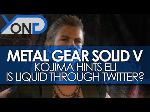 Metal Gear Solid V - Kojima Further Hints Eli = Liquid Through Twitter?