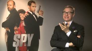 Spy | Paul Feig Does His British Accent | 2015