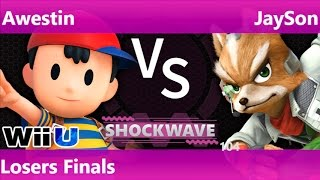 SW 104 - SS   Awestin (Ness) vs SWG   JaySon (Fox) Losers Finals - Smash 4