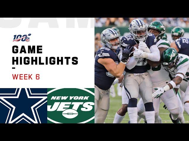 Cowboys vs. Jets Week 6 Highlights | NFL 2019 thumbnail