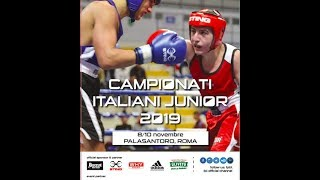 Finali Campionati Italiani Junior 2019 - SEMIFINALI