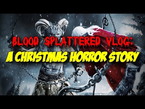 A Christmas Horror Story (2015) - Blood Splattered Vlog (Horror Movie Review)