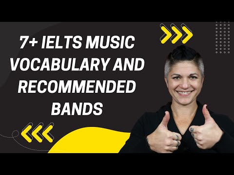 7+ IELTS Music Vocabulary and Recommended Bands