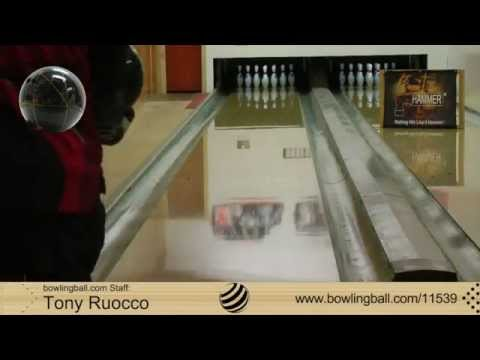 bowlingball.com Hammer Black Widow Legend Bowling Ball Reaction Video Review
