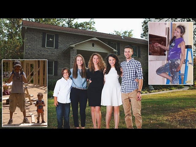 Mother Of 4 Builds House From Scratch By Watching YouTube Videos