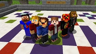 Minecraft THE PACK: Ultimate Speed Race Obstacle Course Parkour!