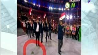 حقيقة سقوط علم السعودية على الأرض في افتتاح ريو دي جانيرو   مع شوبير