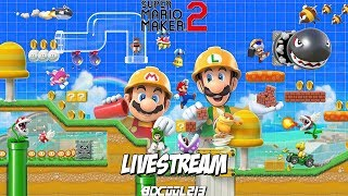 Super Mario Maker 2 - Playing Story Mode & Viewer Levels - Nintendo Switch