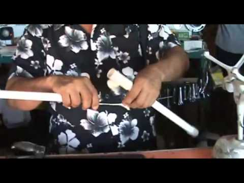 Fabricando Antena de tubo pvc digital. Limando.com