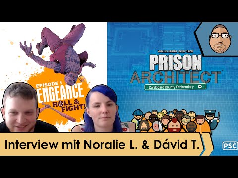 Interview – Vengeance: Roll & Fight – Prison Architect: Cardboard County Penitentiary mit Peat