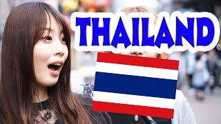 Ask Japanese about THAILAND |What Japanese think of Thailand and Thailand People