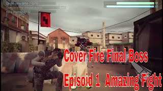 Cover Fire Final Boss Ep 1 hell's square Android Game by Games Music & Others