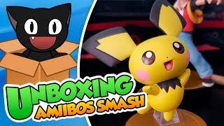 ¡Hazte con todos! Unboxing: Amiibos SSB Ultimate (Pichu, Entrenador Pokemon y Canela) - DSimphony