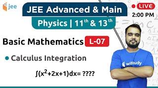 2:00 PM - IIT JEE Class 11 | Physics by Varun Sir | Basic Maths (Calculus Integration)
