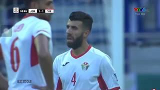 VN VS Jordan    Trọng Hoàng kiến tạo cho Công Phượng ghi bàn    Asian Cup