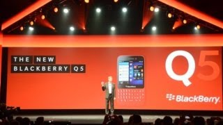 BlackBerry Lower-Cost Q5 QWERTY Smartphone Launch