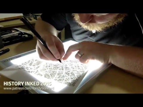History Inked 2015: Terrorism in Paris: Drawing the streets