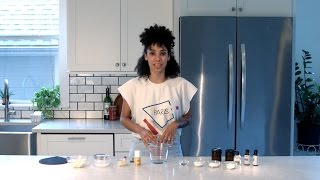 DIY All Natural Deodorant Vegan Friendly (Instagram @nikishariley)