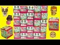 20 My Mini MixieQ's Surprise Blind Bag Box with 2 Mystery Dol...