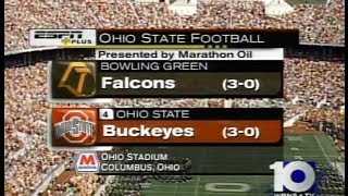 NCAAF: Bowling Green at Ohio State - September 20, 2003