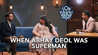 When Abhay Deol became Superman   Son Of Abish