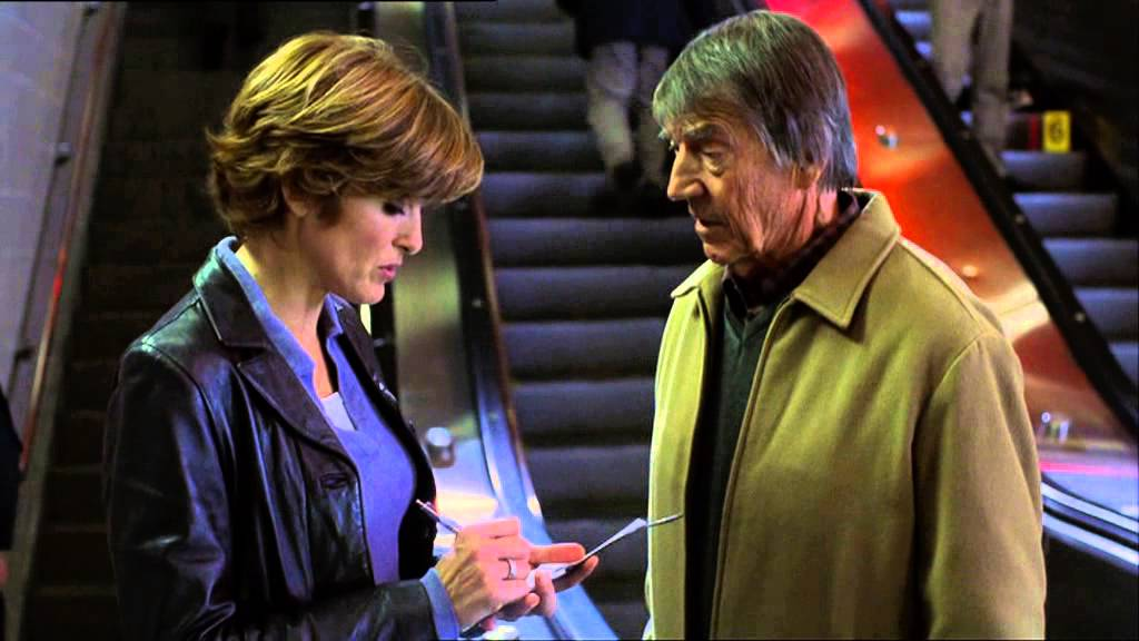 Law and Order SVU Olivia Interviews Mickey Hargitay - YouTube