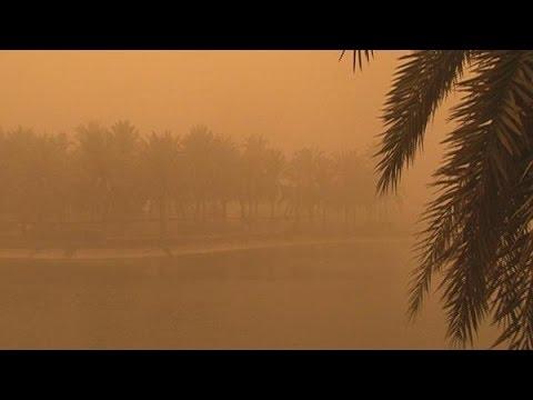 UAE sandstorm disrupts air traffic in Dubai and Abu Dhabi