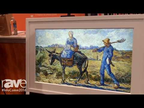 InfoComm 2016: Meural Inc. Displays Meural Digital Canvas